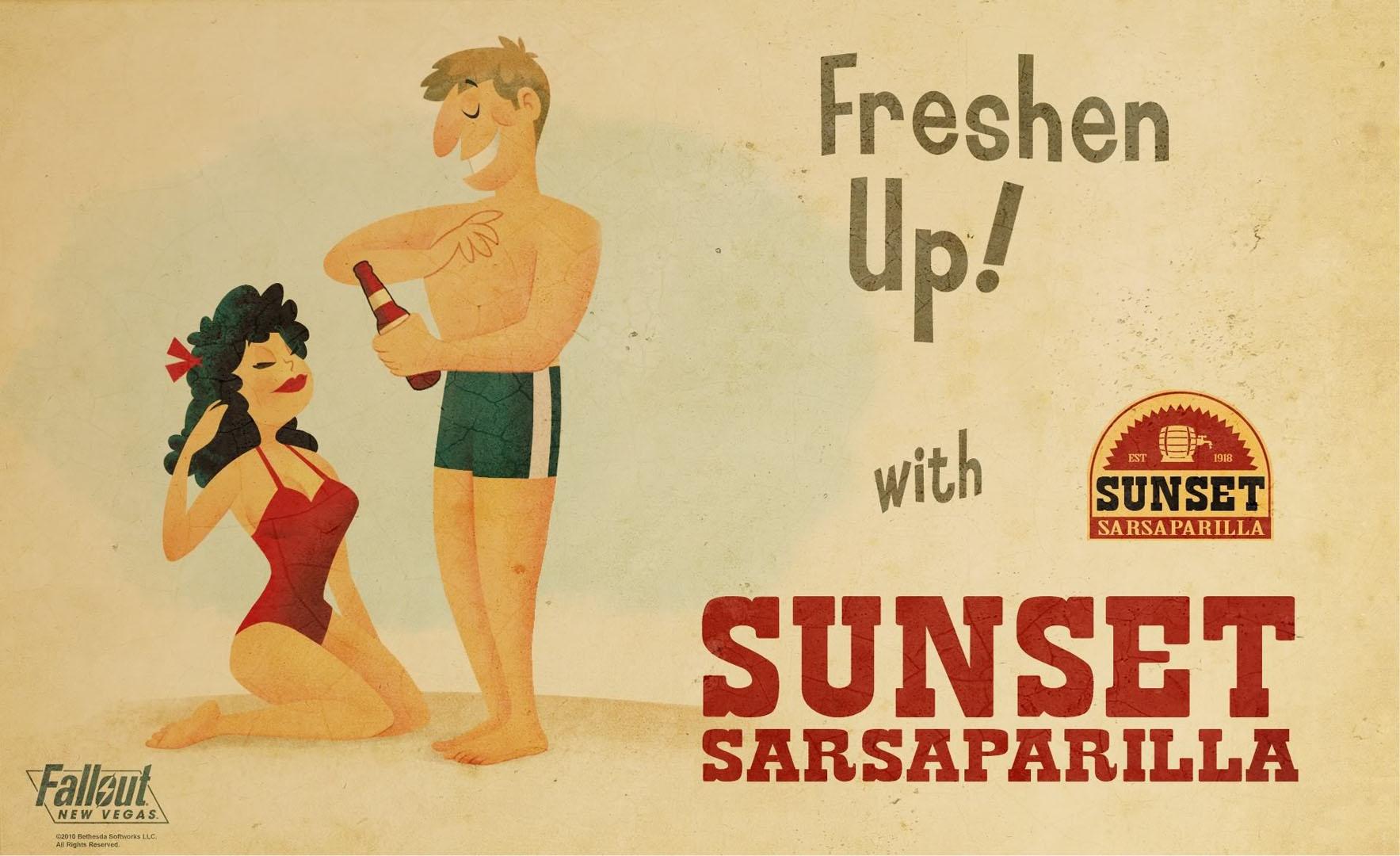 Freshen Up With Sunset Sarsaparilla