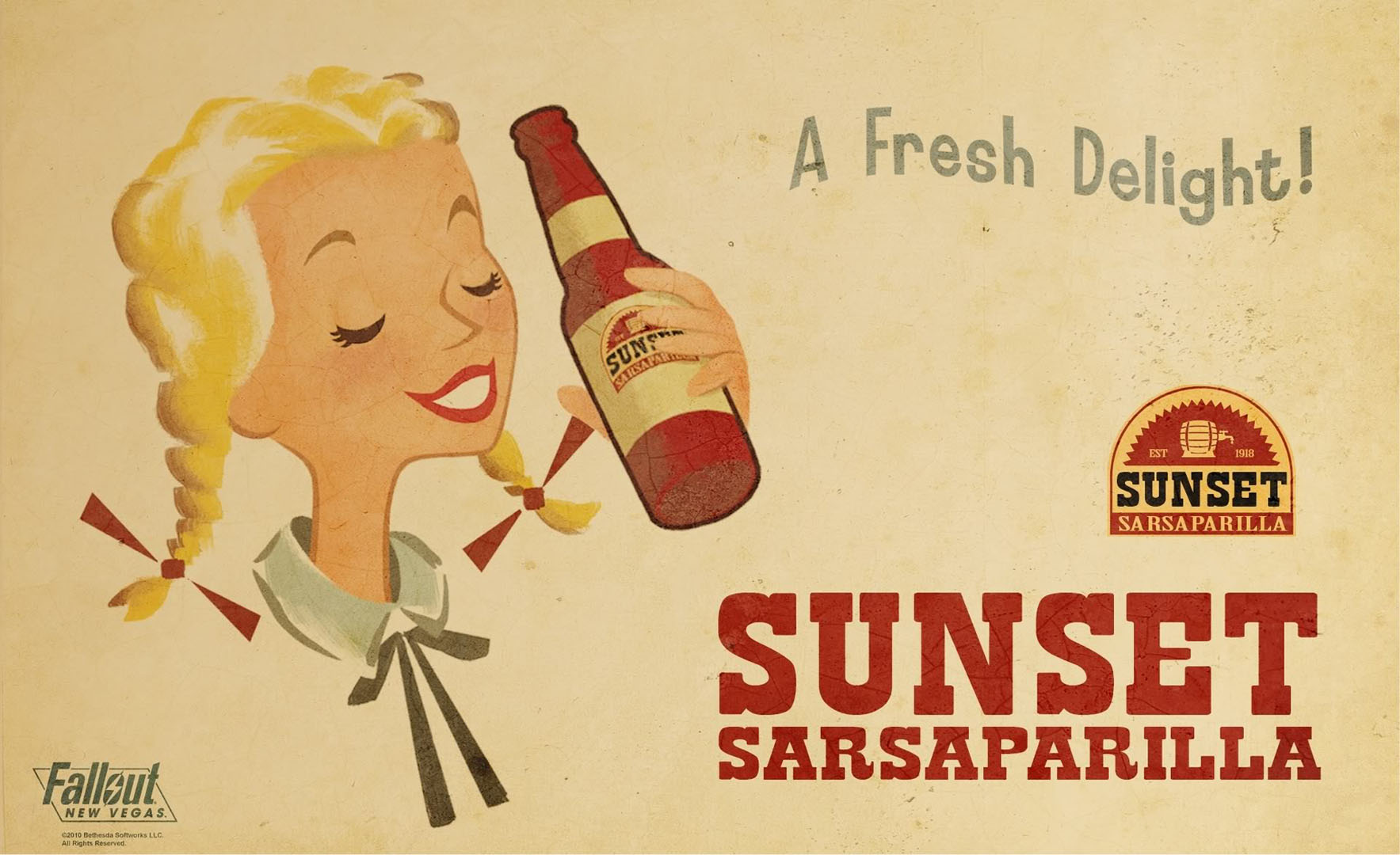 Sunset Sarsaparilla A Fresh Delight