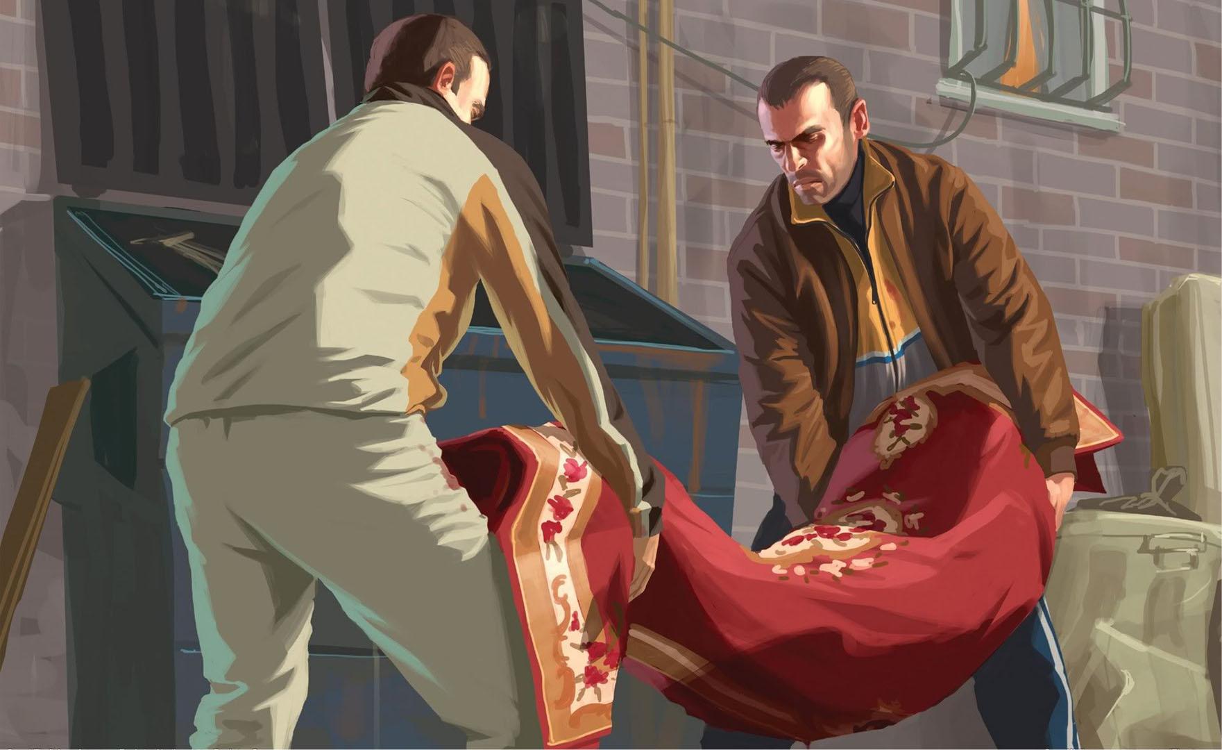 Disposing The Body In The Bin