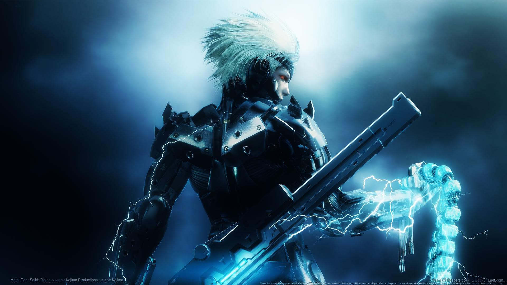 Electric Ninja Cyborg Robot