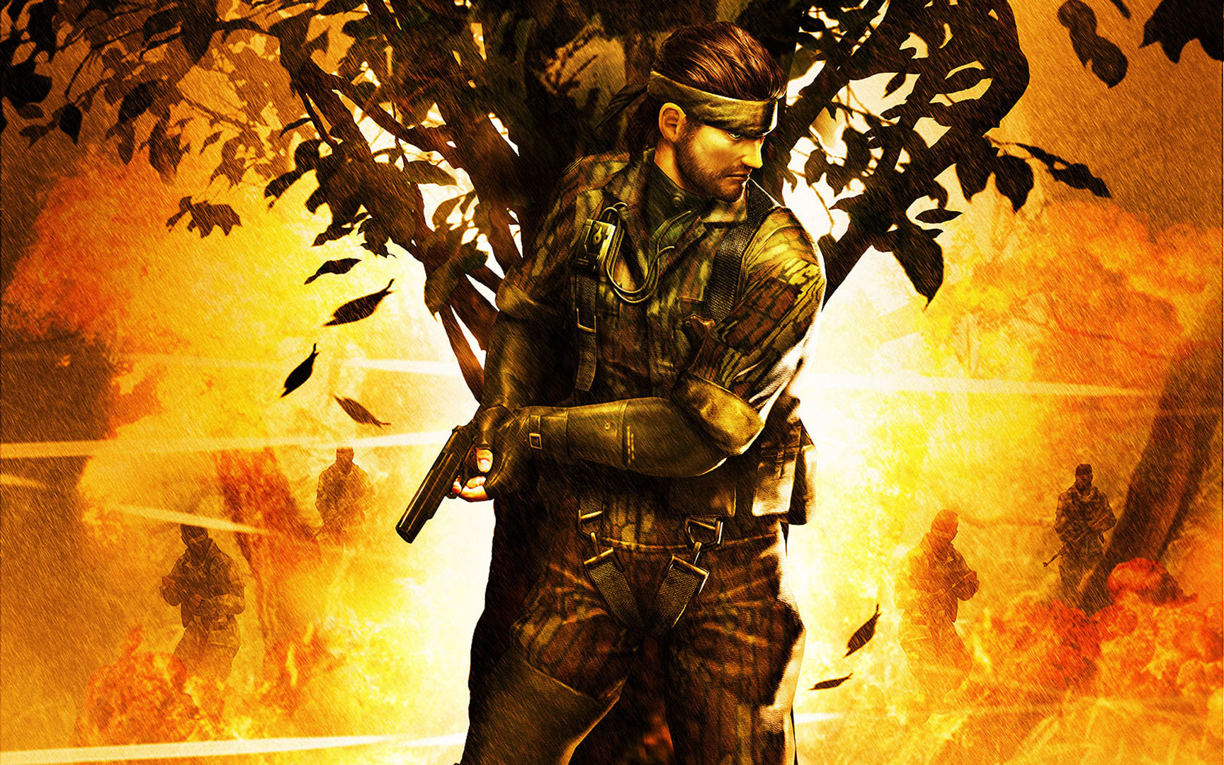 Solid Snake In The Jungle