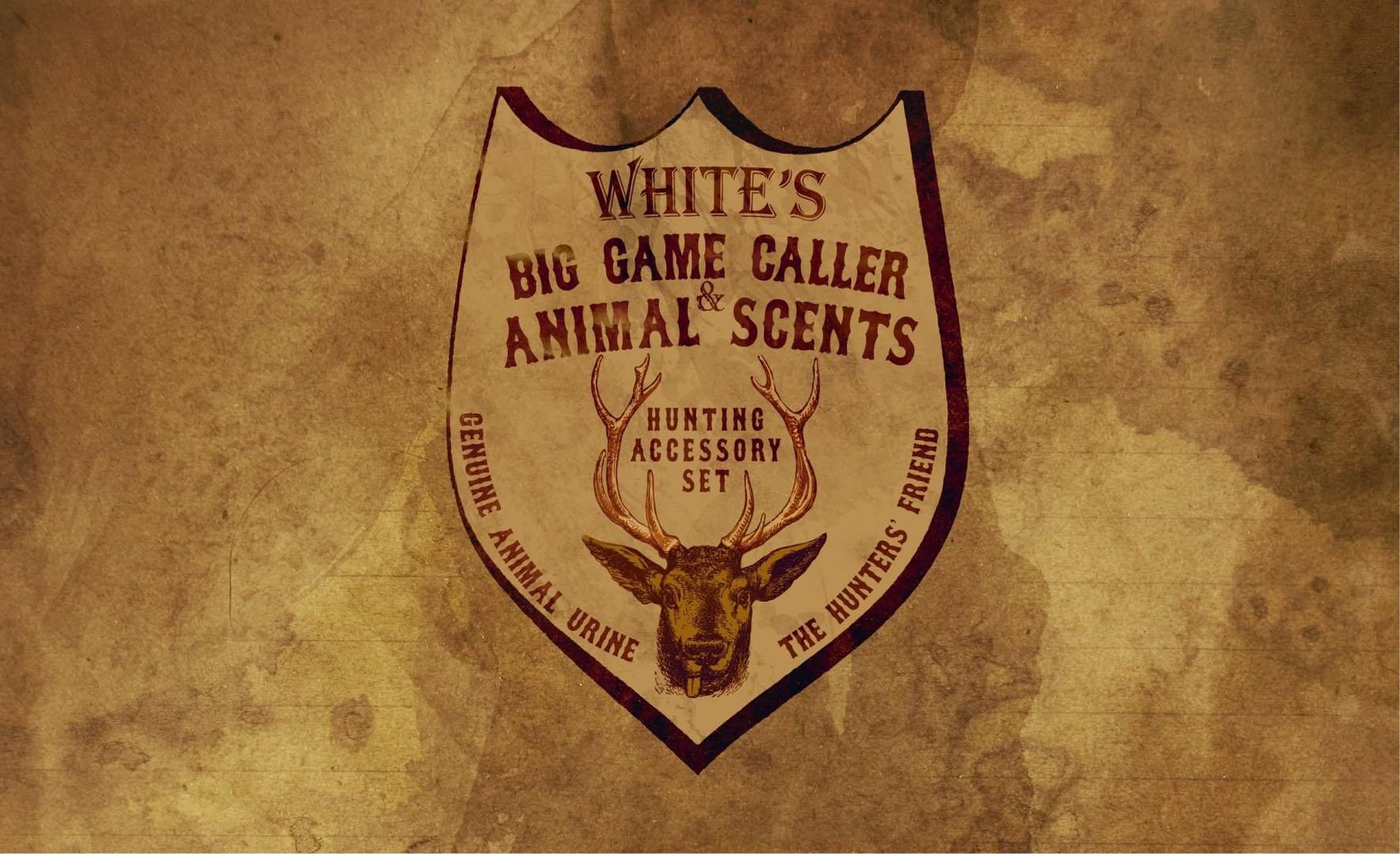Big Game Caller Genuine Animal Scents Advert