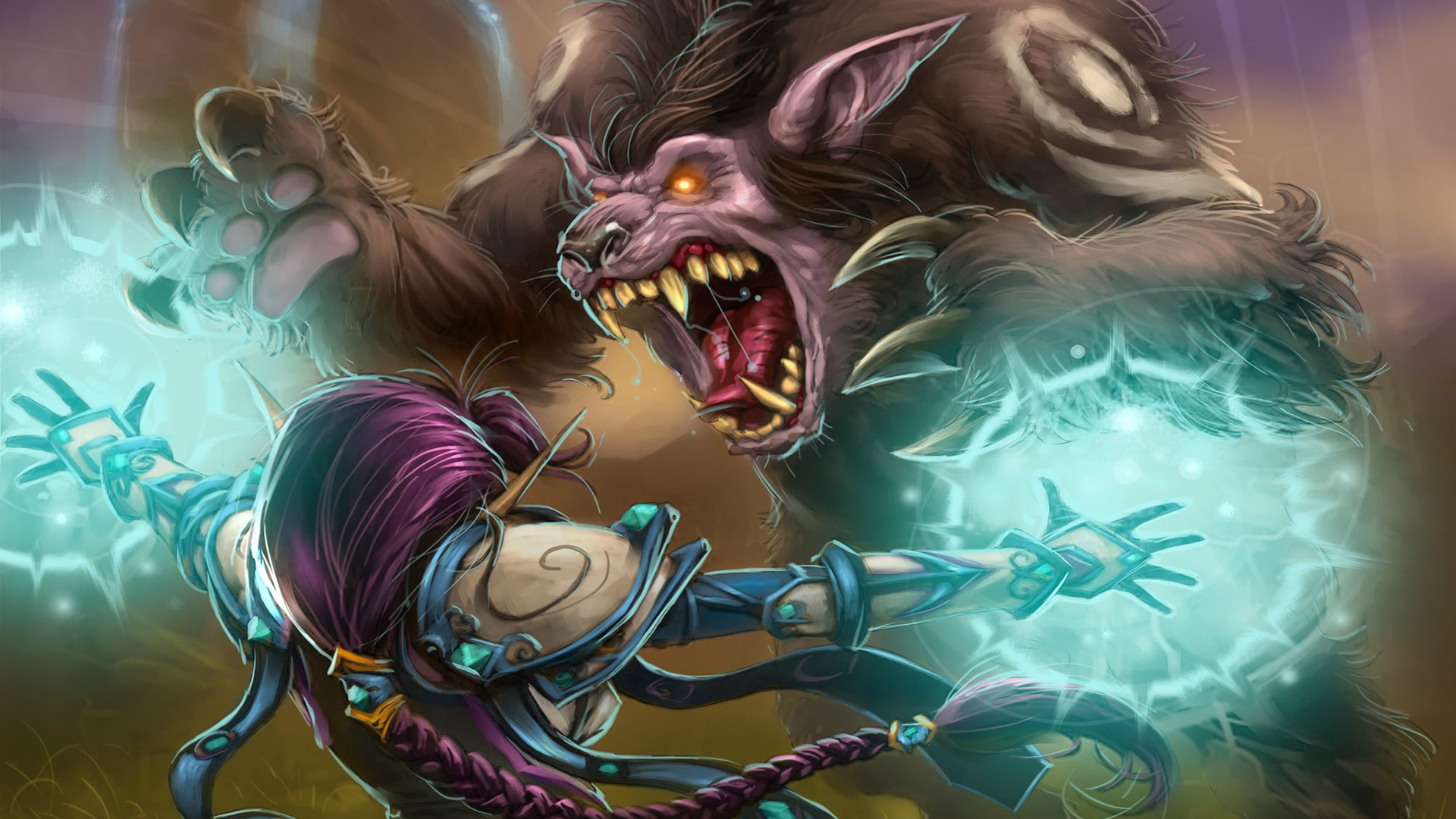 Wolverine Attacking Mage