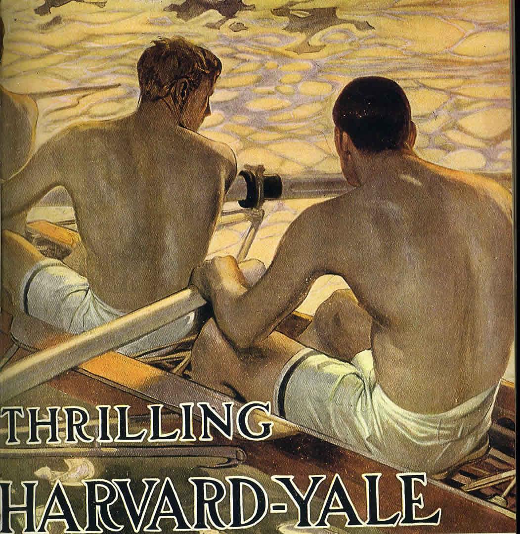 Thrilling Harvard Yale Rowing Race