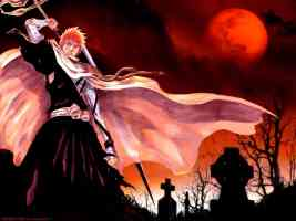 ichigo in the graveyard