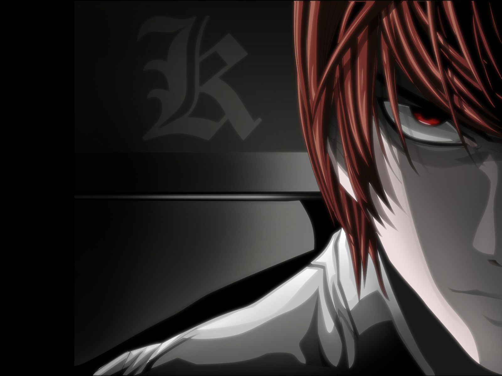 Light Yagami Close Up - Death Note Wallpaper