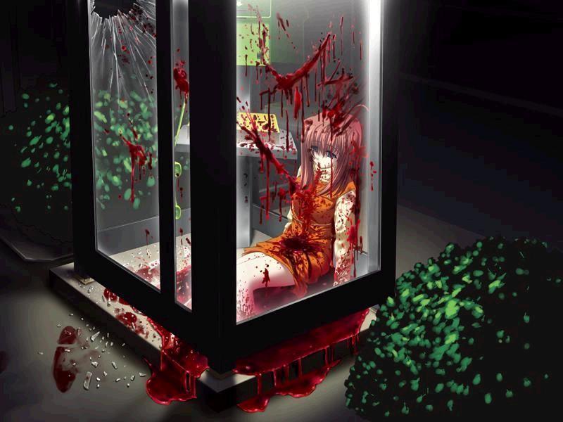 Nyu Bloody Telephone Box