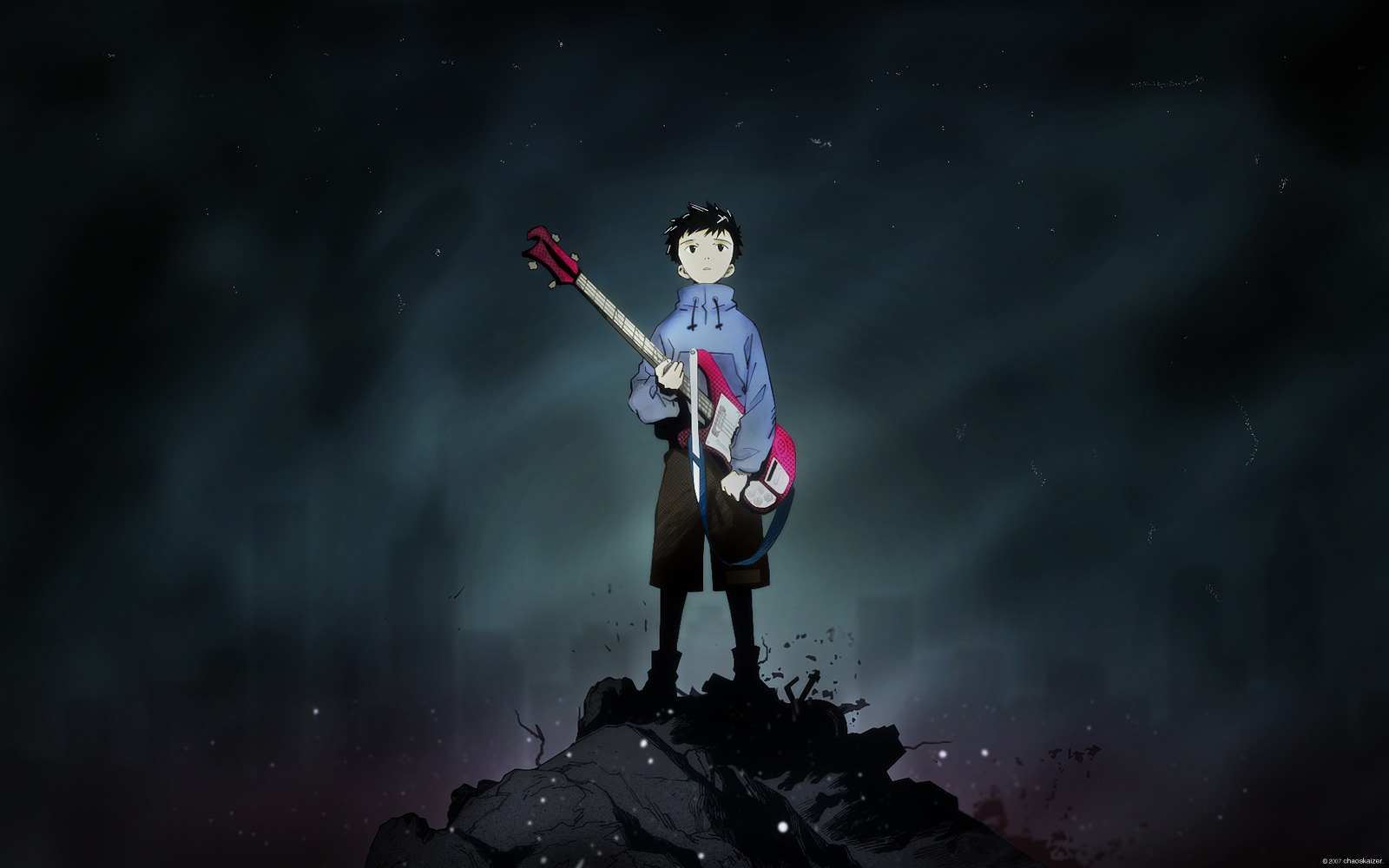 Naota With Guitar