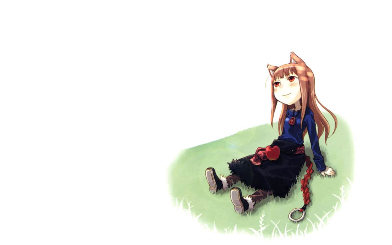 Spice and Wolf iPhone Nokia wallpapers Anime Pinterest Wolf