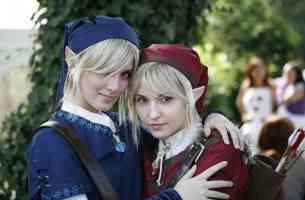 two elven girls