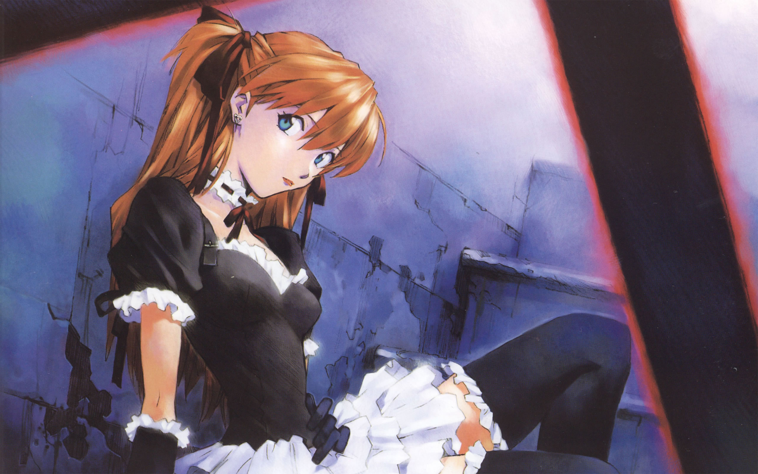 Asuka In Sexy Maid Dress