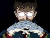 Gendo Ikari Thinking