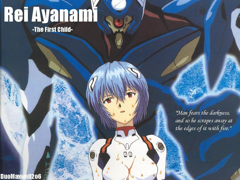 Rei Ayanami First Child Neon Genesis Evangelion Wallpaper