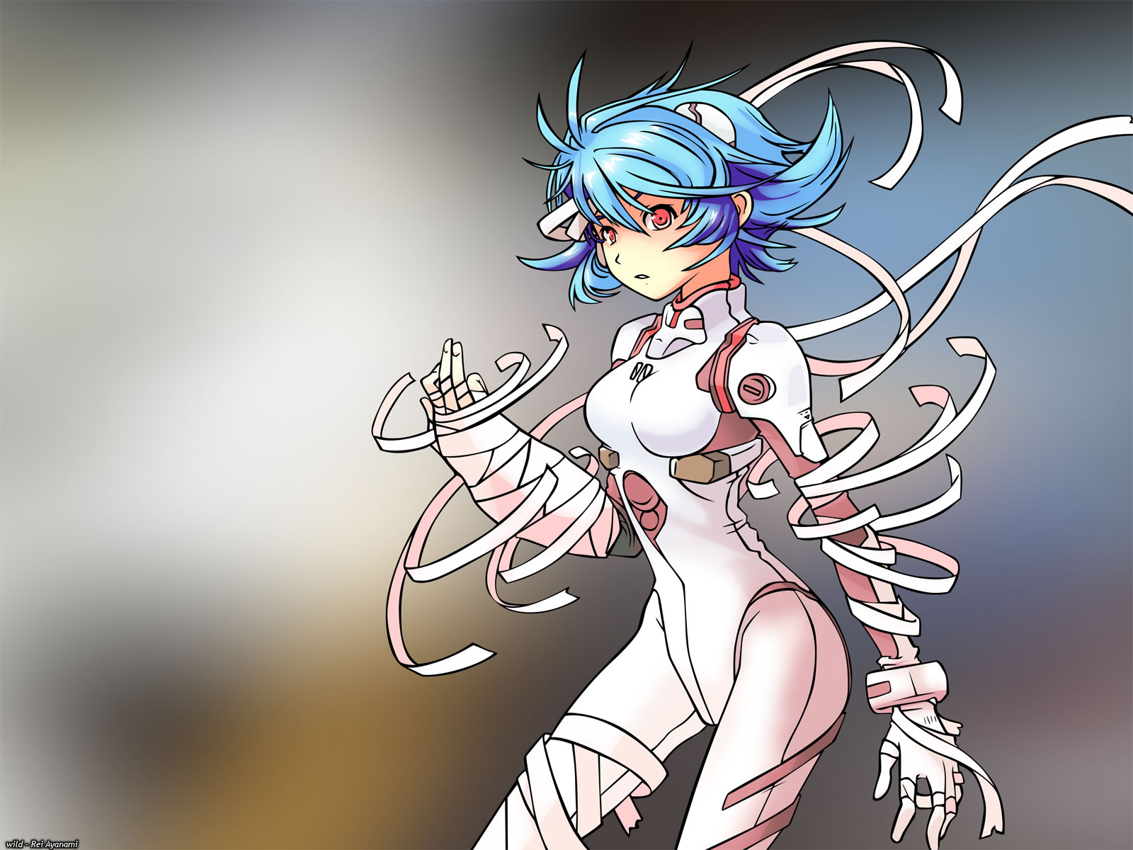 Rei In Bandages