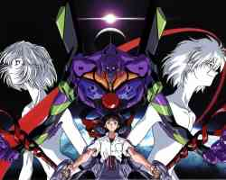 eva unit 01 and pilots