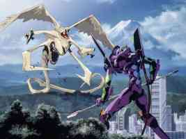 eva unit 01 fighting monster
