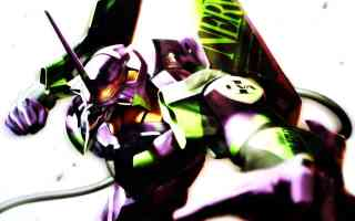 eva unit01 attacking
