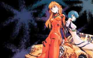 rei and asuka sitting and crashed porsche