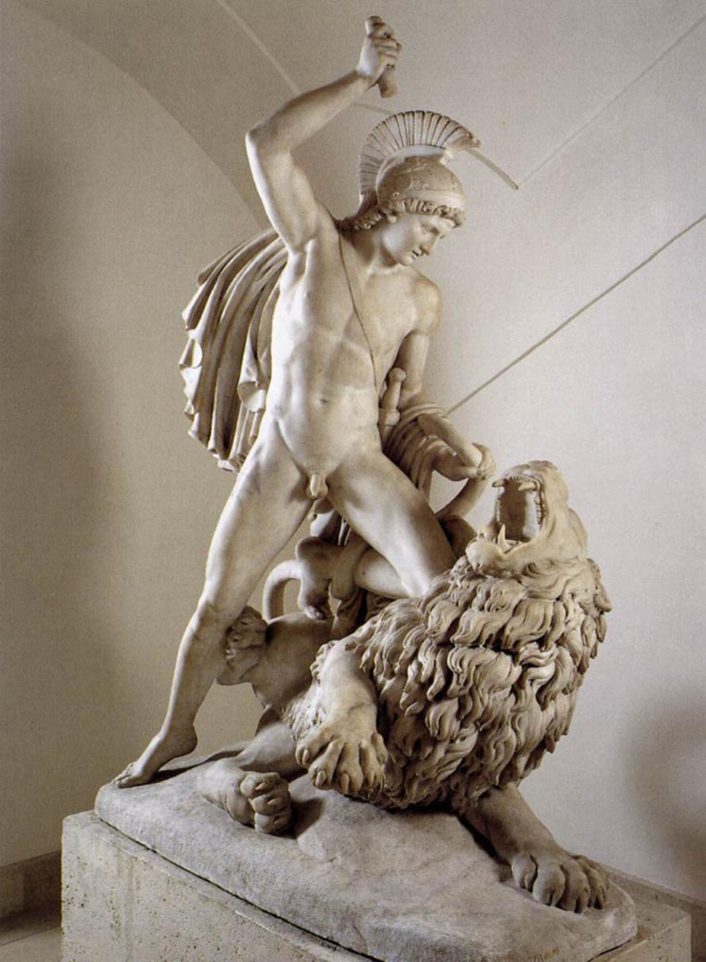 Schaller Johann Nepomuk Bellerophon Fighting The Chimaera