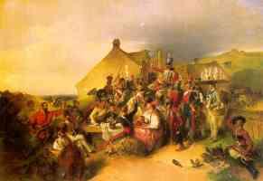 soldier banquet