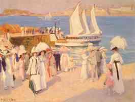 the quay at dinard