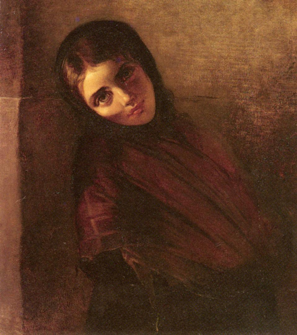 Anna Maria Elisabeth A Young Girl