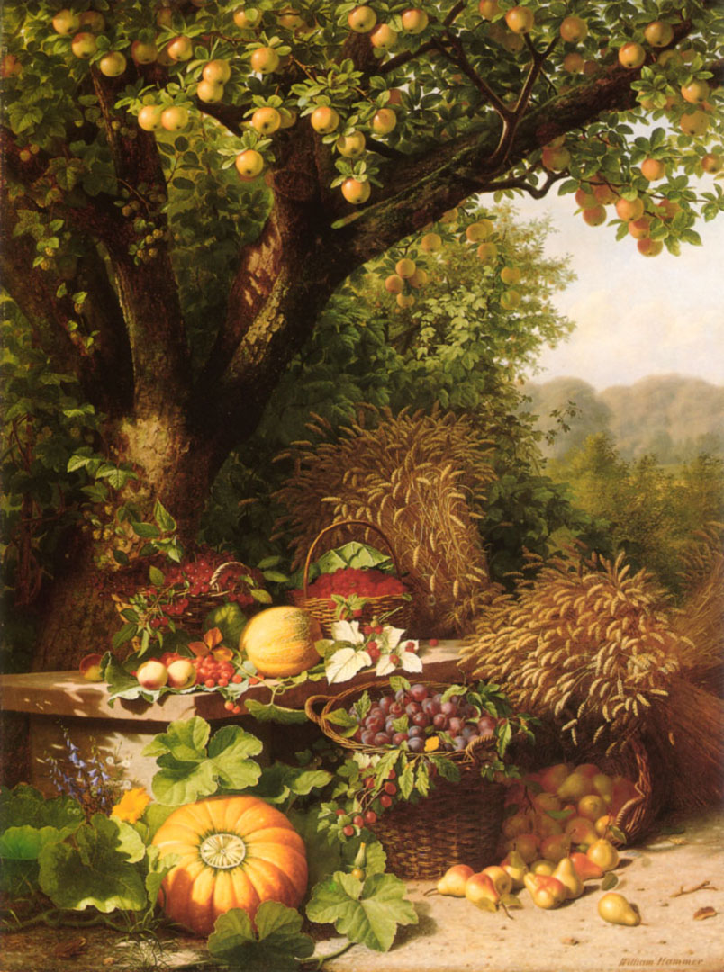 Fruits Of The Garden And Field