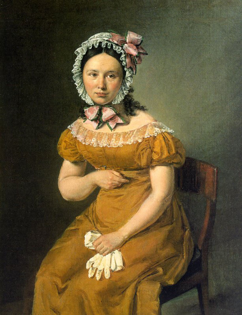 Portrait Of Artists Wife