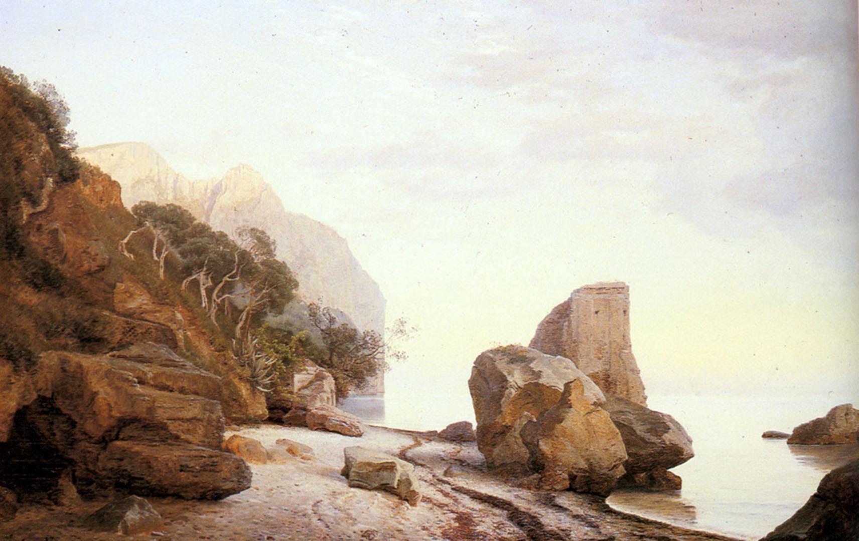 Rocks Along The Shore