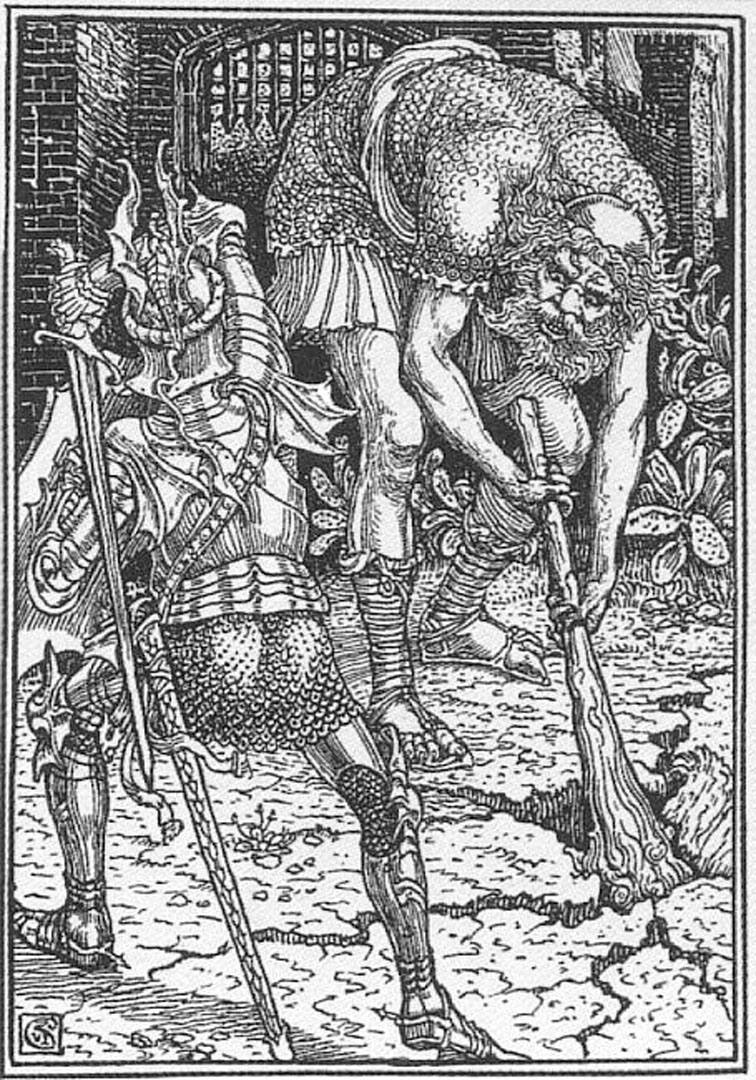 King Arthur And The Giant Book I Canto Viii