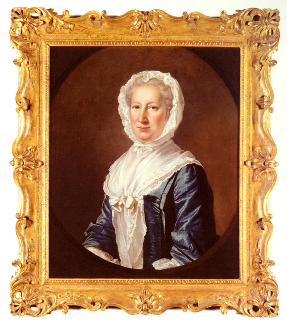 Portrait Of Catherine Fleming Lady Leicester