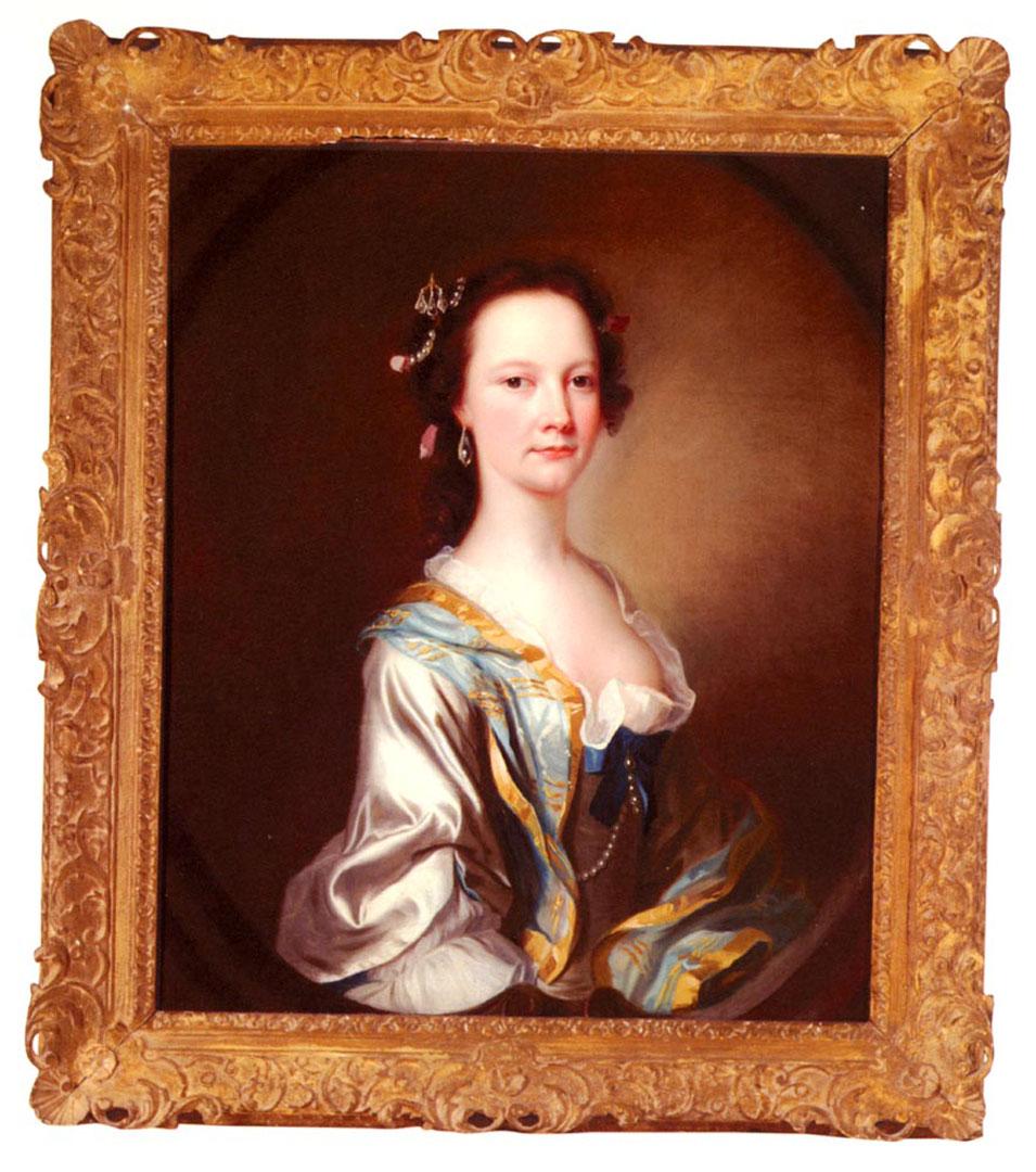 Portrait Of Miss Parker