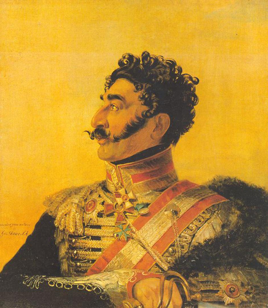 Portrait Of V G Madatov