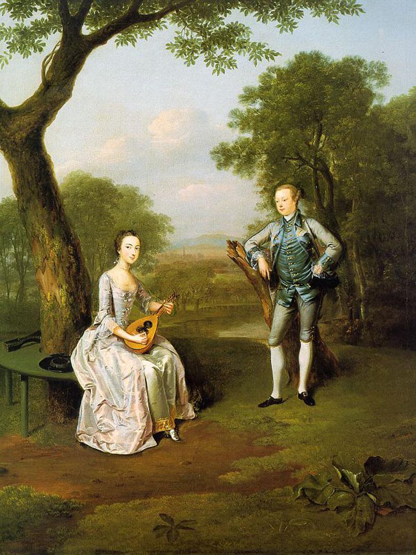 Sir Nathaniel And Lady Caroline Curzon