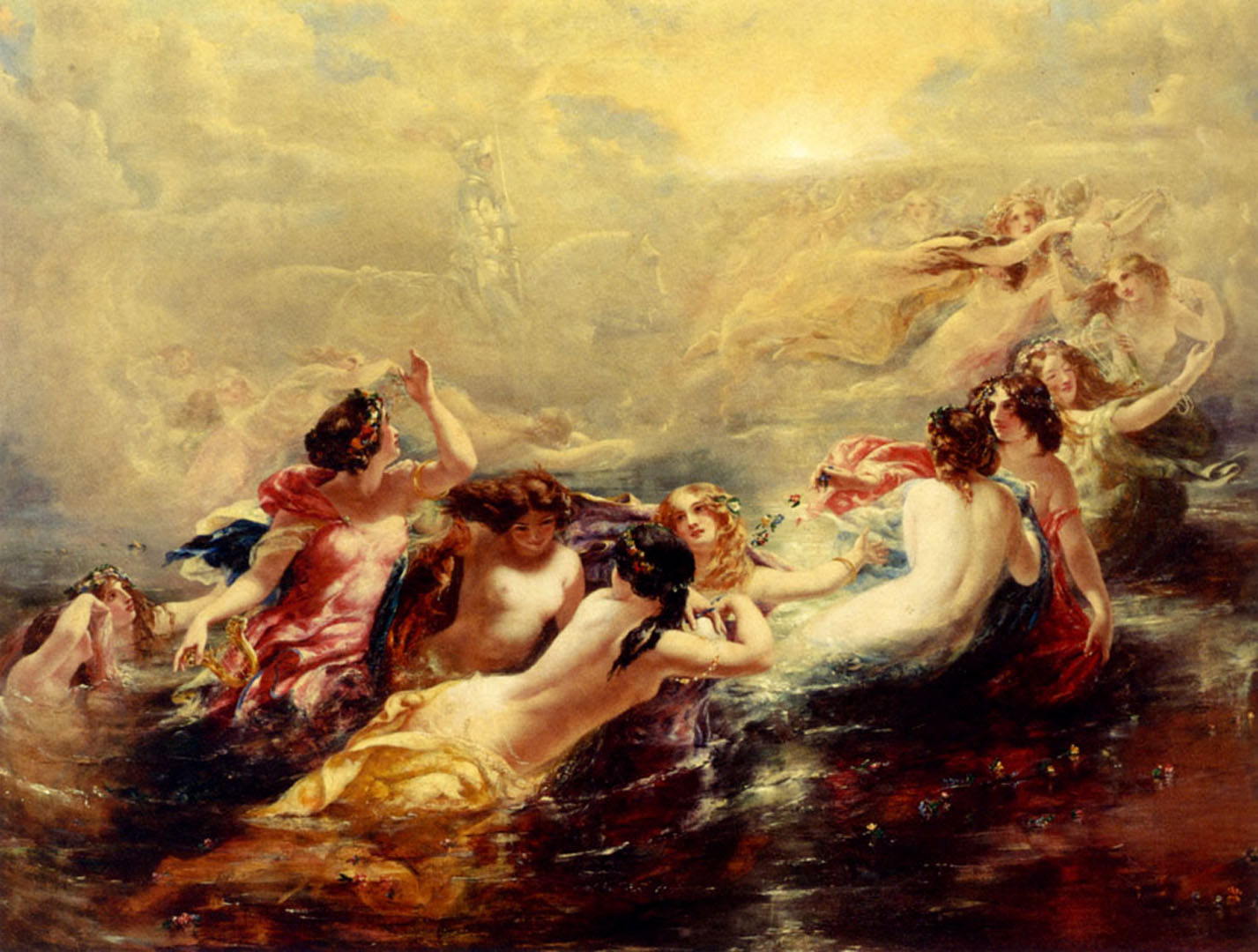 Sirens And The Night - English Art