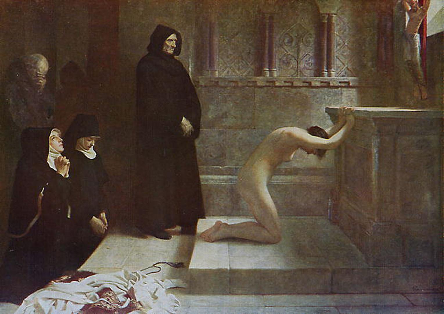 St Elizabeth Of Hungarys Great Act Of Renunciation