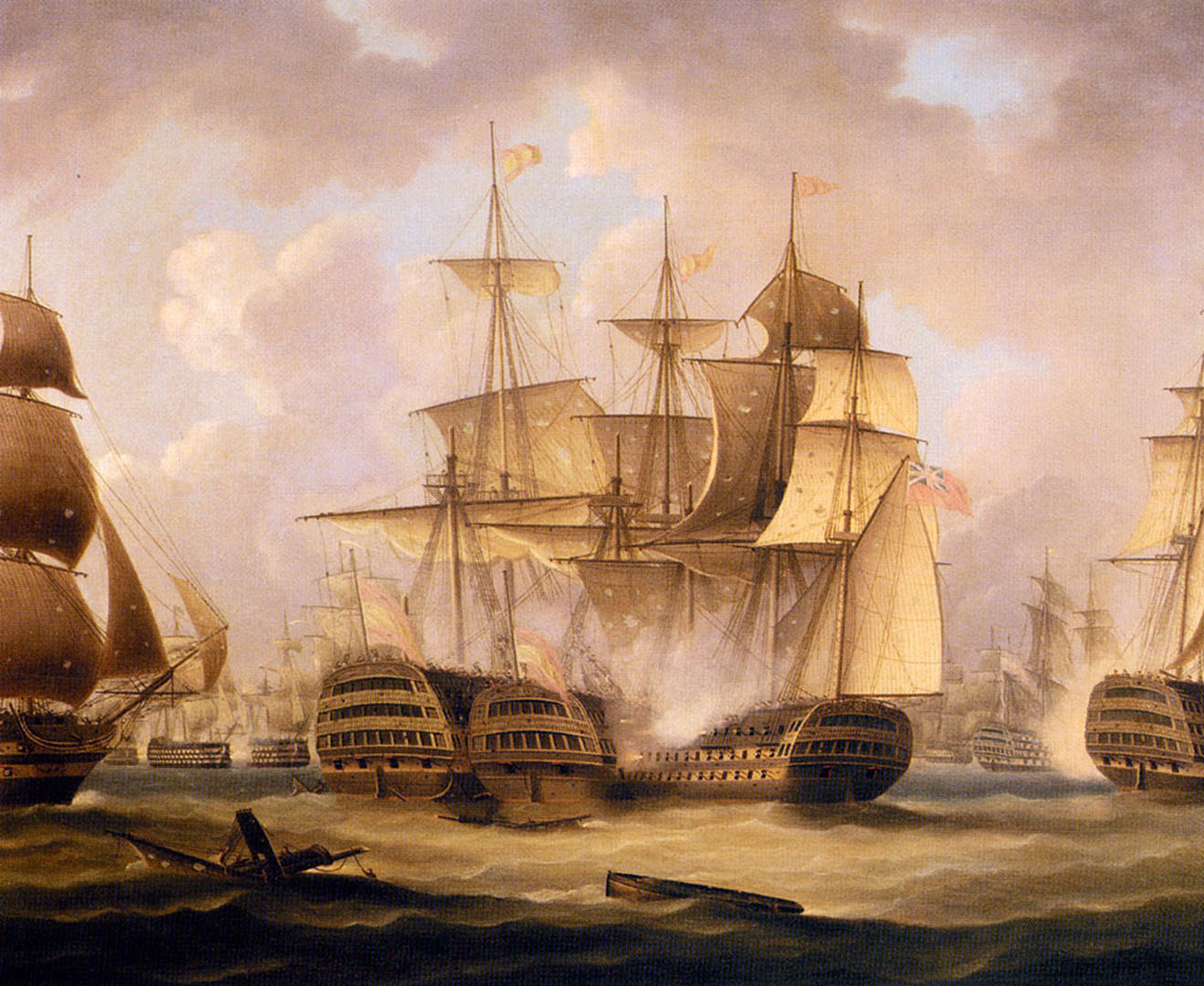 The Battle Of Cape St Vincent February 14