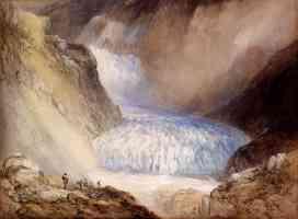 glacier du rhone and the garlingstock