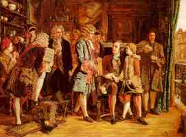 popes introduction to dryden at wills coffee house