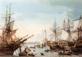 shipping in ramsgate harbour