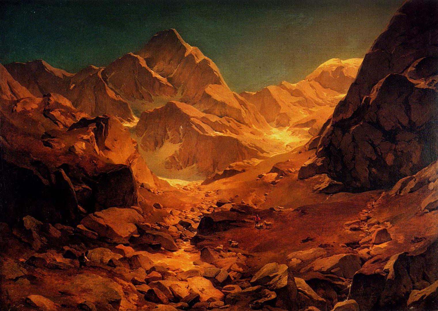 A Mountainous Landscape