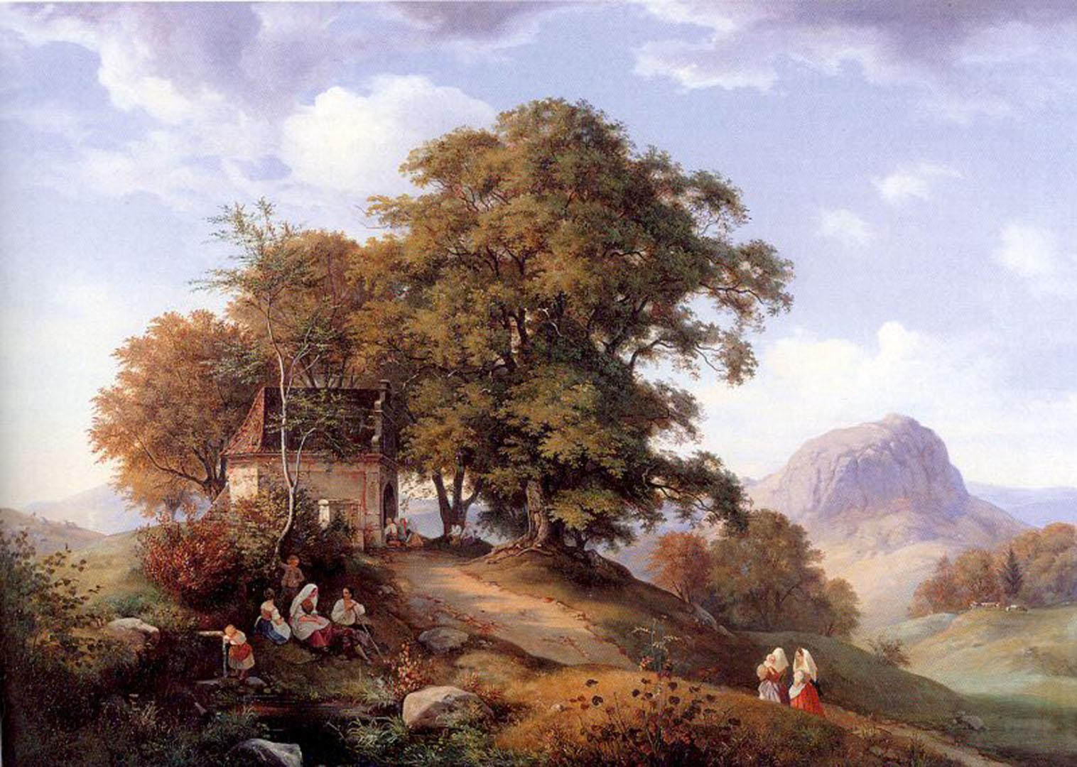 An Autumn Afternoon Near Bilin In Bohemia