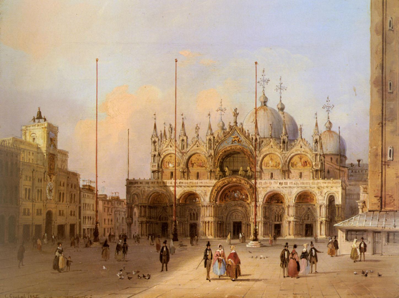 Basilica Di San Marco - german art wallpaper image