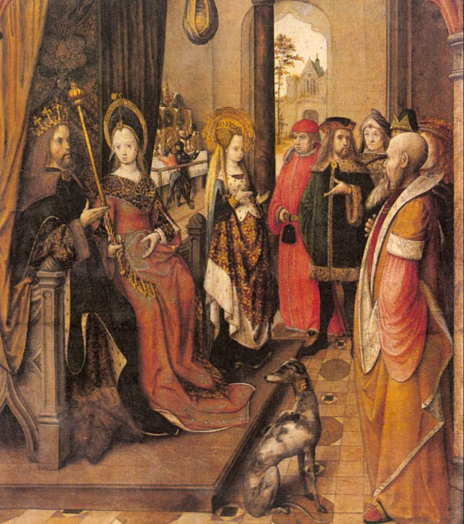 Master Of The Legend Of St Ursula