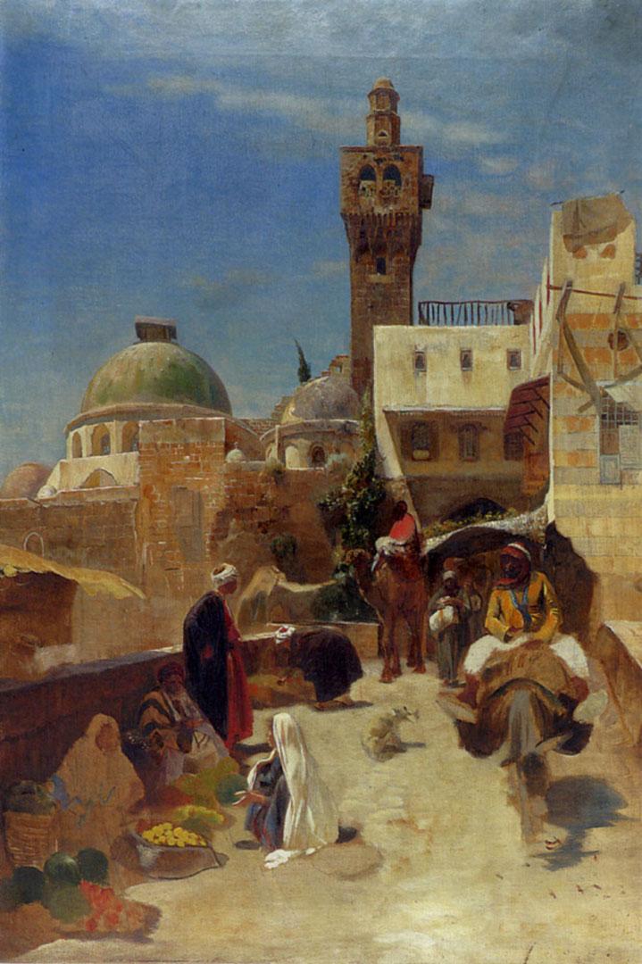 Oriental Street Scene