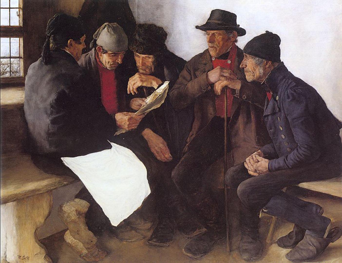 Peasants In Conversation
