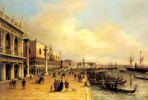 a view of the doges palace