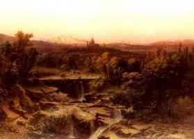 an extensive river landscape