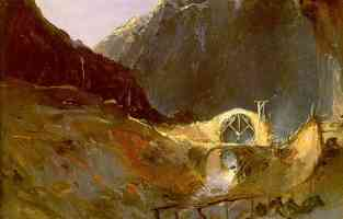 study of the building of the devils bridge