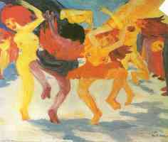 the dance round the golden calf
